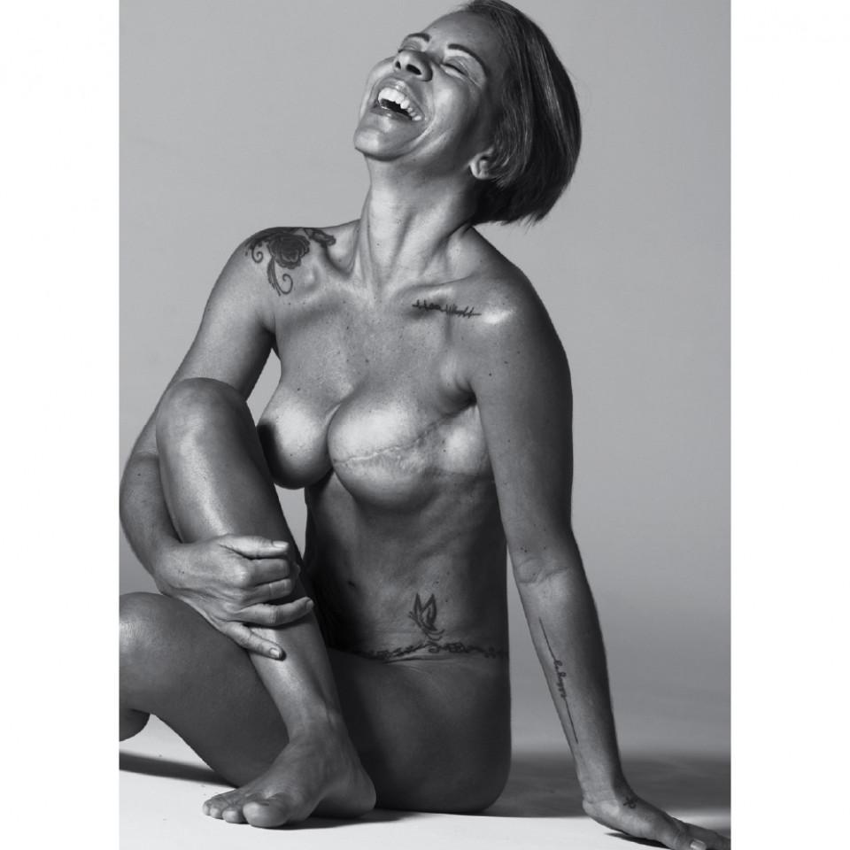 """""""Essa foto resgatou algo precioso que andava um pouco perdido: eu mesma"""", Sandra Martins."""