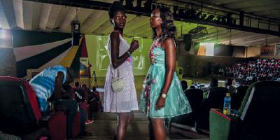 A juventude multicolorida do Sudão do Sul