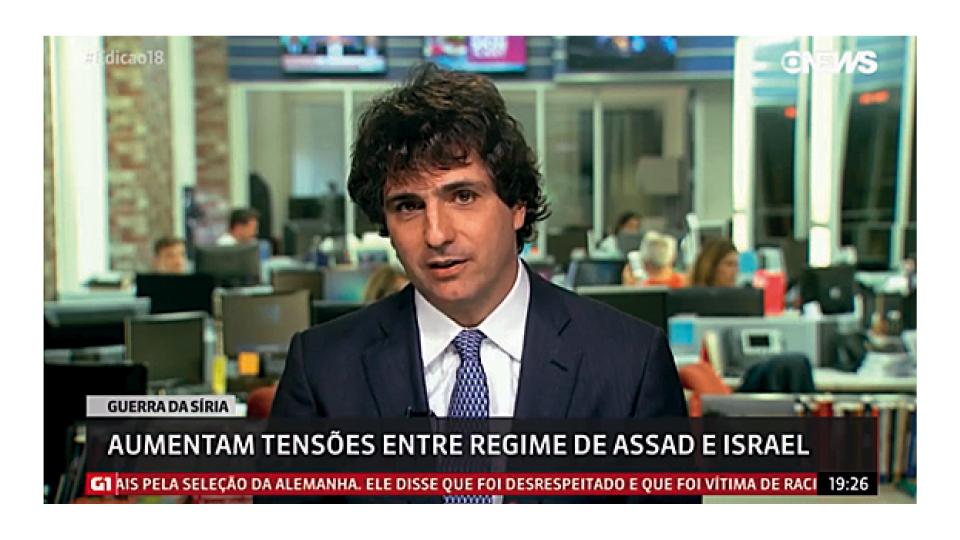 Ao vivo, na Globo News