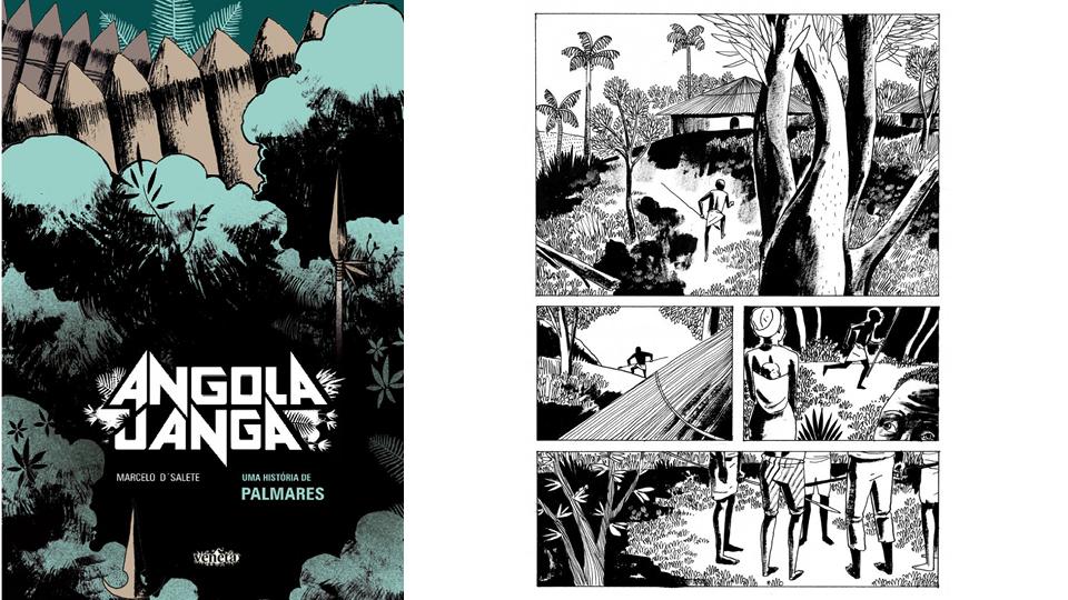 """Marcelo D'Salete, autor da HQ """"Angola Janga"""", que aborda a história do Quilombo de Palmares, é um dos convidados do evento"""
