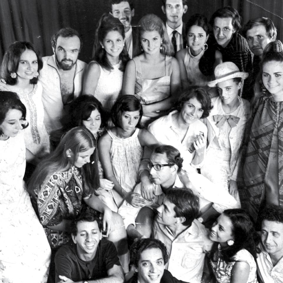"""Os bastidores de """"Todas as Mulheres do Mundo"""", primeiro filme do cineasta."""