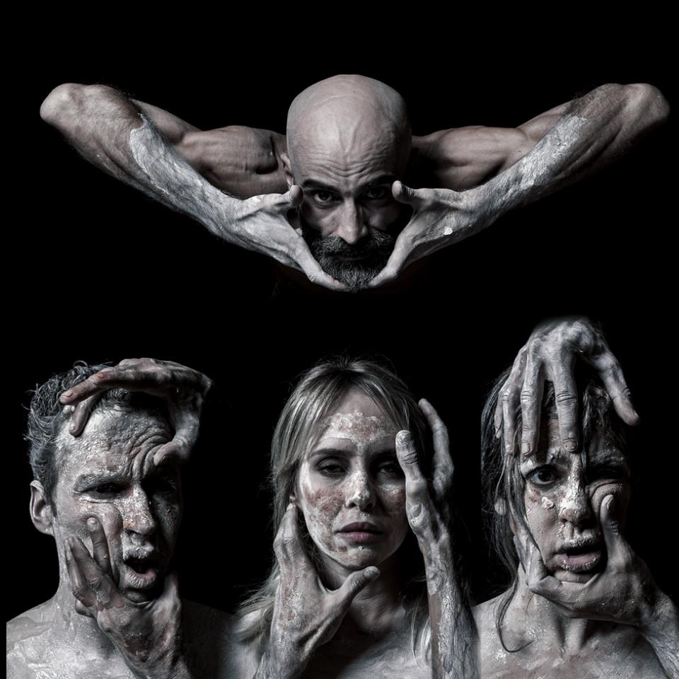 "O elenco de ""Soror"": Daniel Infantini, Fernanda Nobre,  Geraldo Rodrigues e Luisa Micheletti"