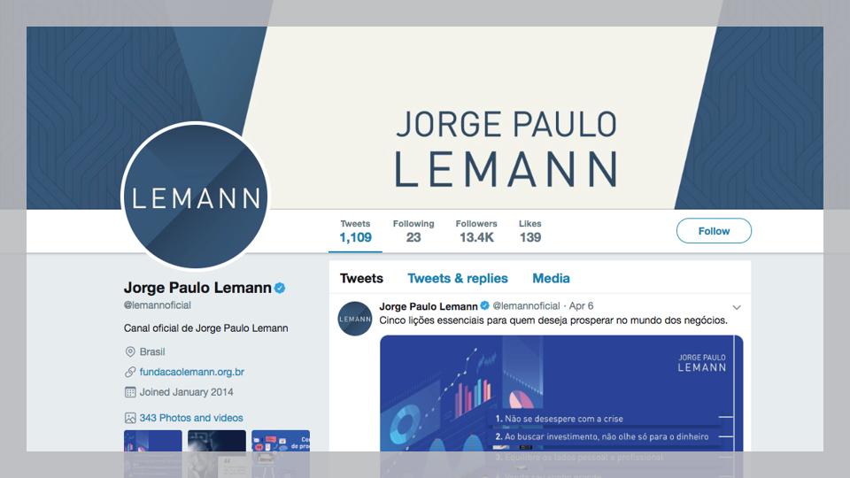 @Lemannoficial, o empresário Jorge Paul Lemann, um dos mais ricos do país