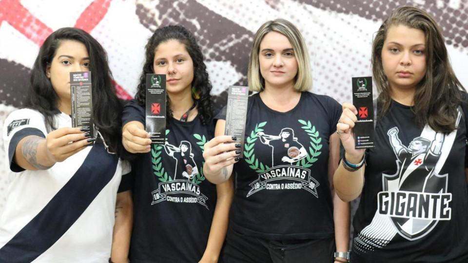 As Vascaínas contra o Assédio participaram do encontro regional do movimento Mulheres de Arquibancada (MDA)