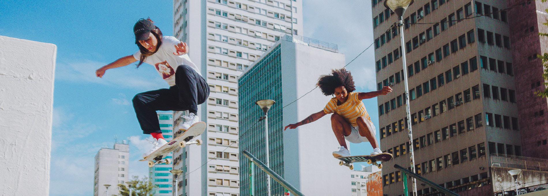 O boom do skate feminino