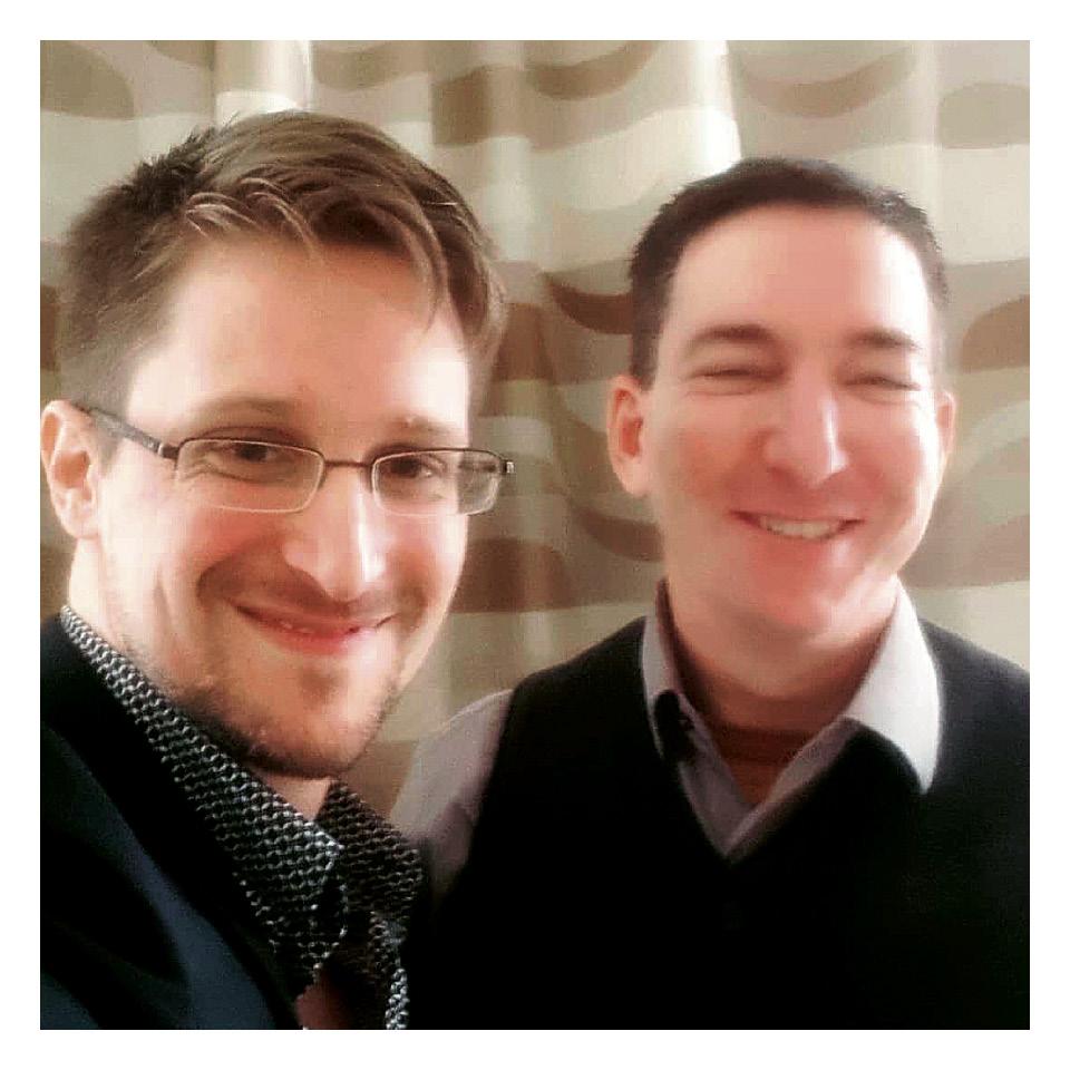 Glenn visita sua fonte e hoje amigo Edward Snowden, exilado na Rússia