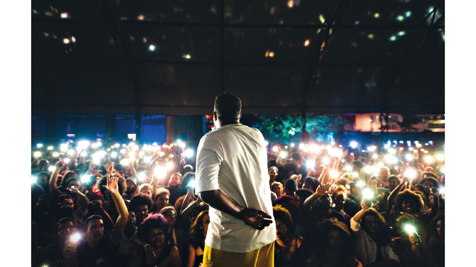 Em show no HUB (RJ), em 2019