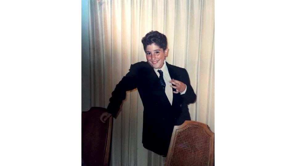 Mion aos 10 anos em Iowa, nos Estados Unidos, em 1989