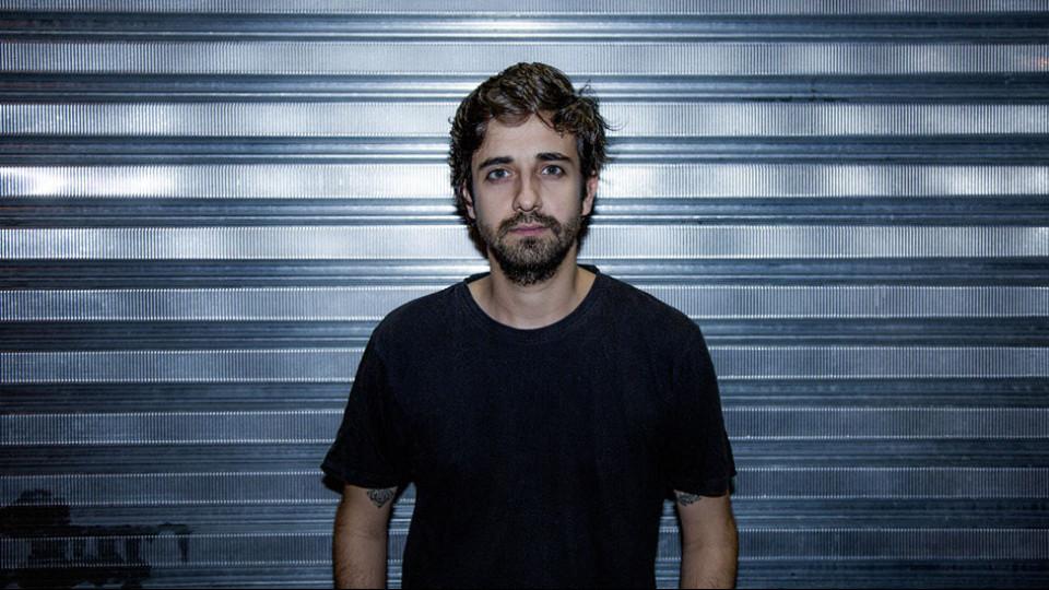 O diretor do documentário, André Almeida