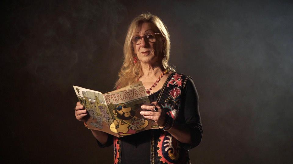 """""""Não sei nem como expressar como a Circo foi importante. Foi o que me permitiu fazer quadrinhos, afinal"""", diz a cartunista Laerte"""