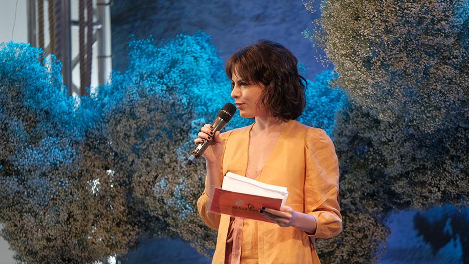 A mediadora Luisa Micheletti