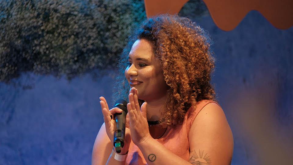 Samille Sousa, facilitadora do projeto UX para Minas Pretas