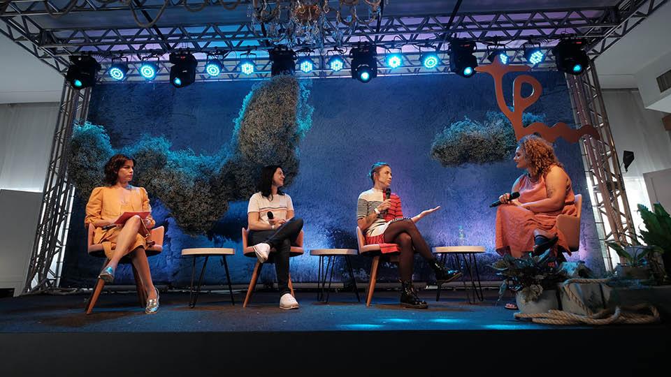 Luisa Micheletti, Mariana Dorta, Diana Assennato e Samille Sousa