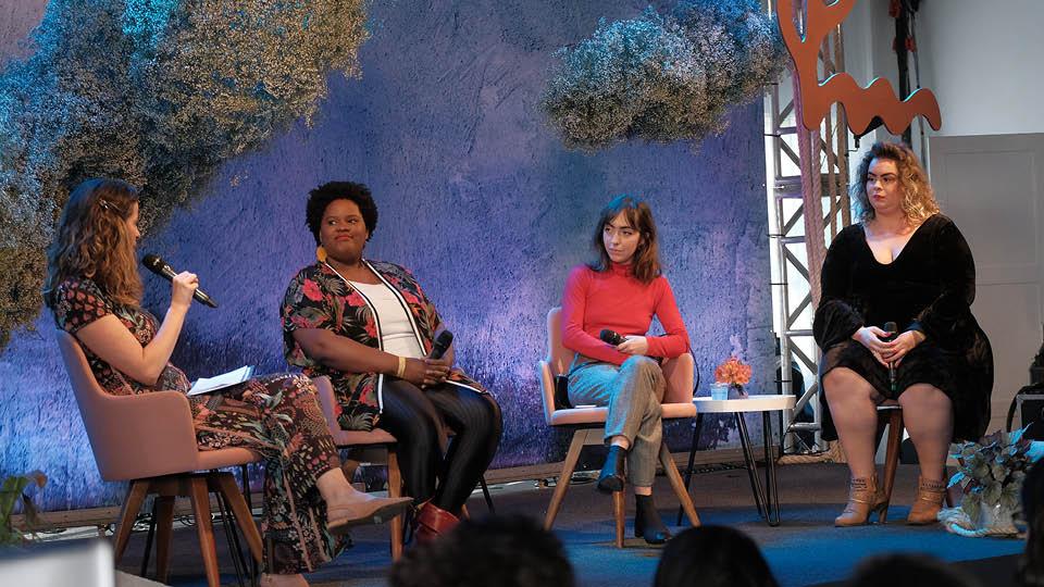 Luciana Bugni, Mariana Nogueira da Luz, Fernanda Lensky e Thais Silva falaram sobre padrões de beleza