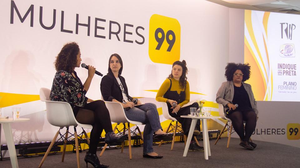 Viviane Duarte, Vanessa Molina, Nathalia Zaccaro e Verônica Dudiman