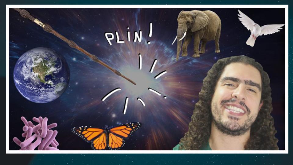 Paulo Pedrosa, ou Pirula, criou o Canal do Pirula em 2006 para falar essencialmente sobre ciência, religião e evolução