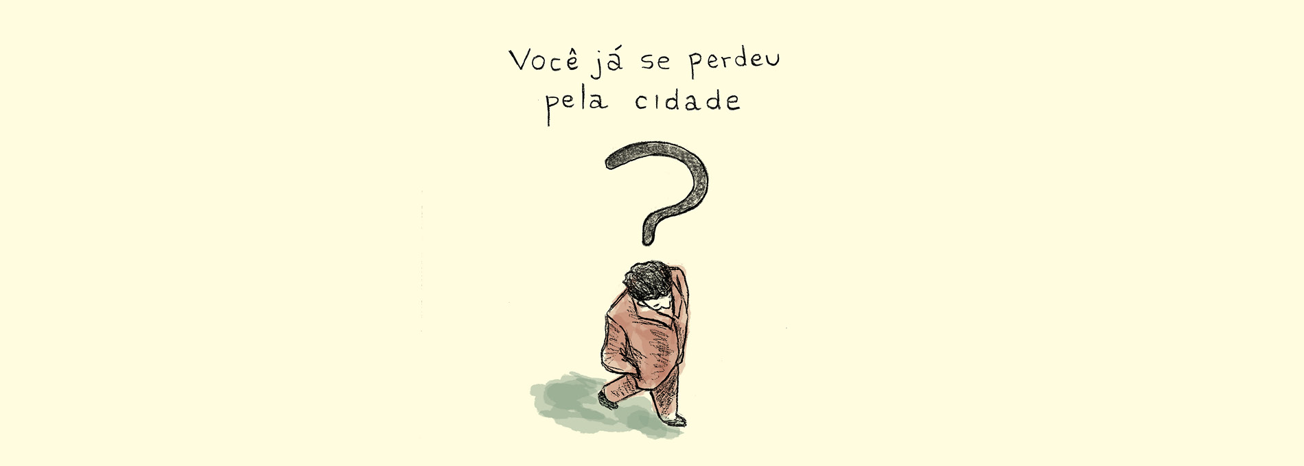 Escrever e vagabundear em São Paulo