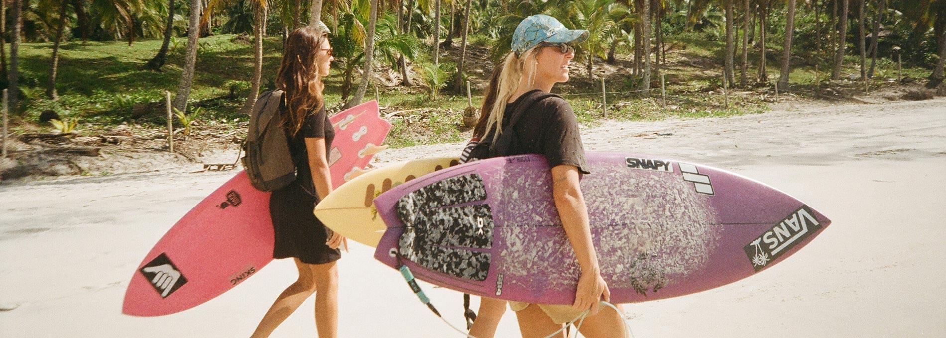 Surf feminino no Brasil, de norte a sul