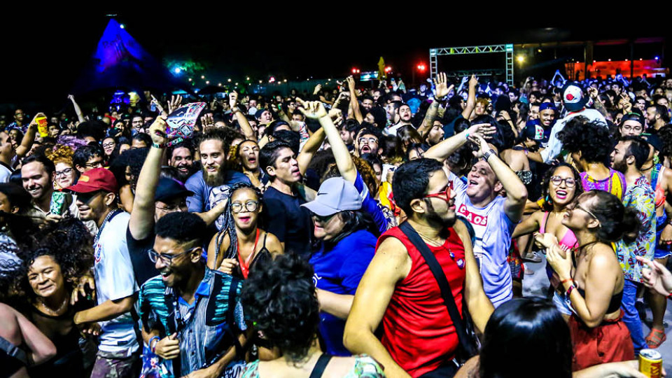 O público do Se Rasgum é tão quente quanto Belém do Pará