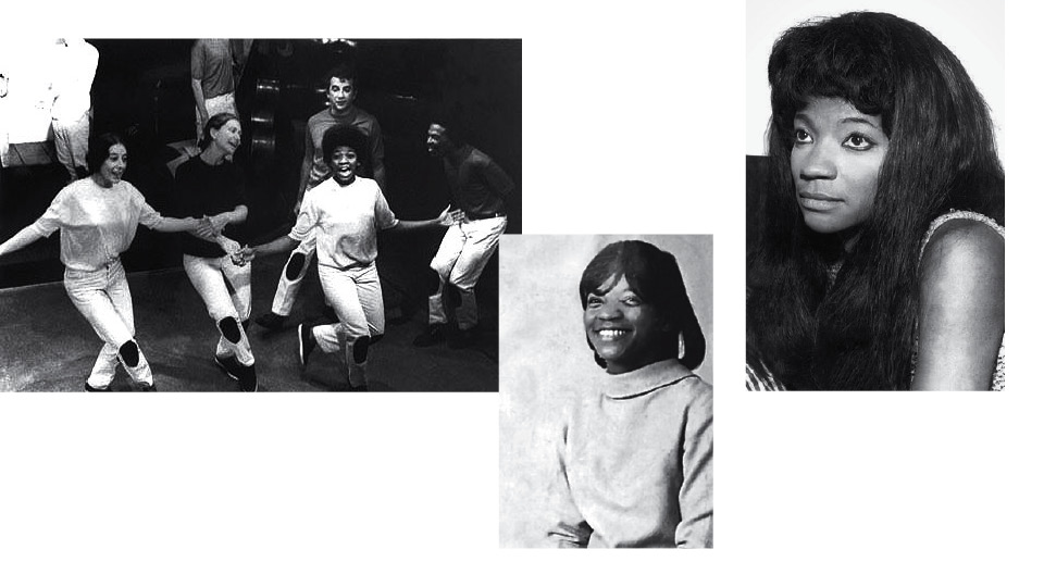 Da esq. para dir., a escola de teatro Tablado, nos anos 60; Zezé, em 1968; e no fim da adolescência