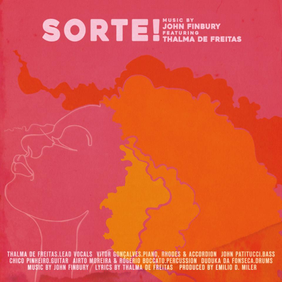 Capa do disco Sorte! - Thalma de Freitas