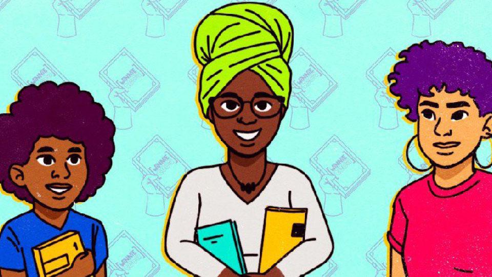 Winnie Bueno criou o Tinder dos Livros, uma comunidade que conecta doadores com pessoas negras que precisam de livros.