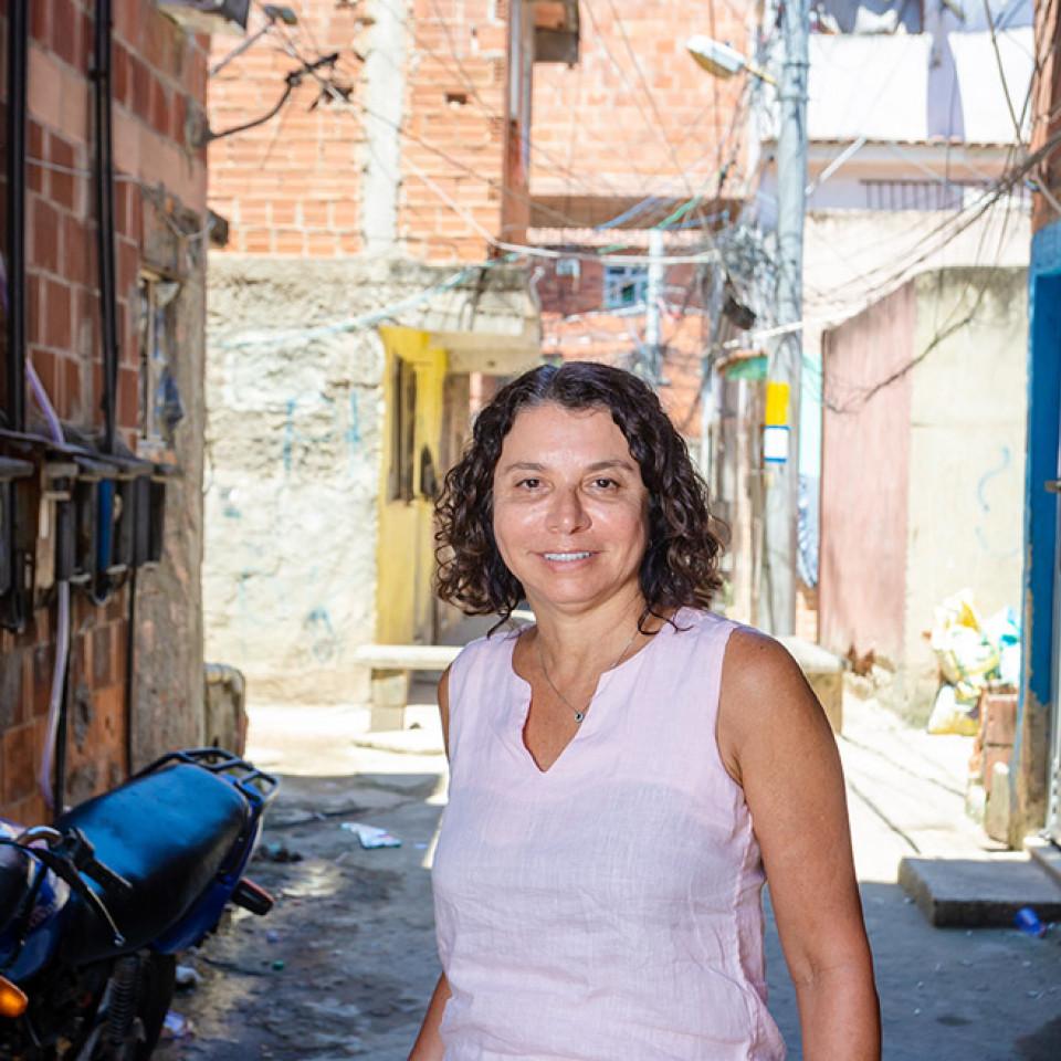 Eliana Sousa Silva diretora fundadora da ONG Redes da Maré, no Rio de Janeiro