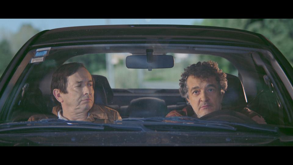 """Cena de """"O filme de Bruno Aleixo""""; no cinema, a produção ganha atores também, além dos personagens animados"""