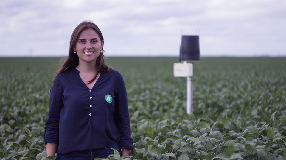 A CEO da Agrosmart, Mariana Vasconcelos