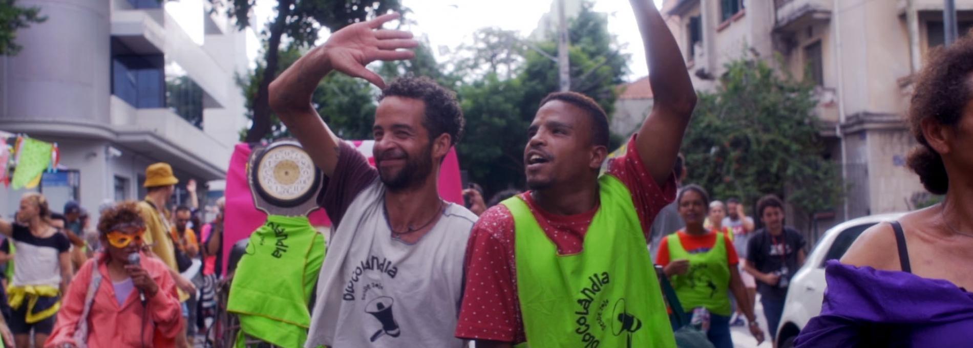 Blocolândia, o bloco de carnaval da Cracolândia