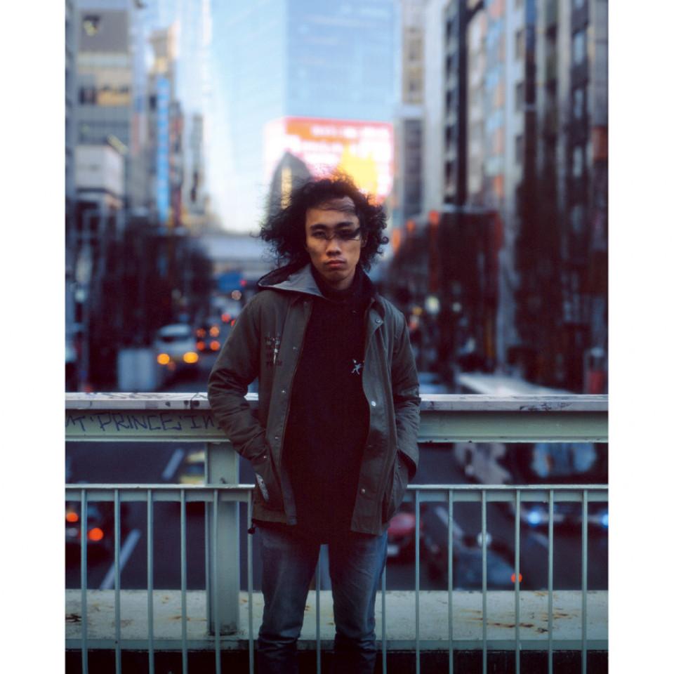 Nuushi Harada, 22 anos, trabalha em um restaurante, filho de pai japonês e mãe jamaicana