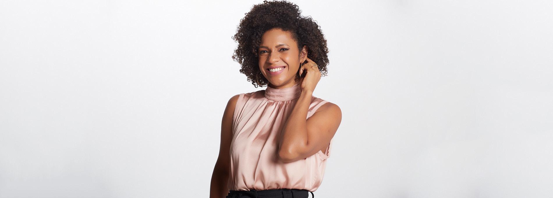 Na CNN Brasil, Luciana Barreto não quer ser a âncora negra