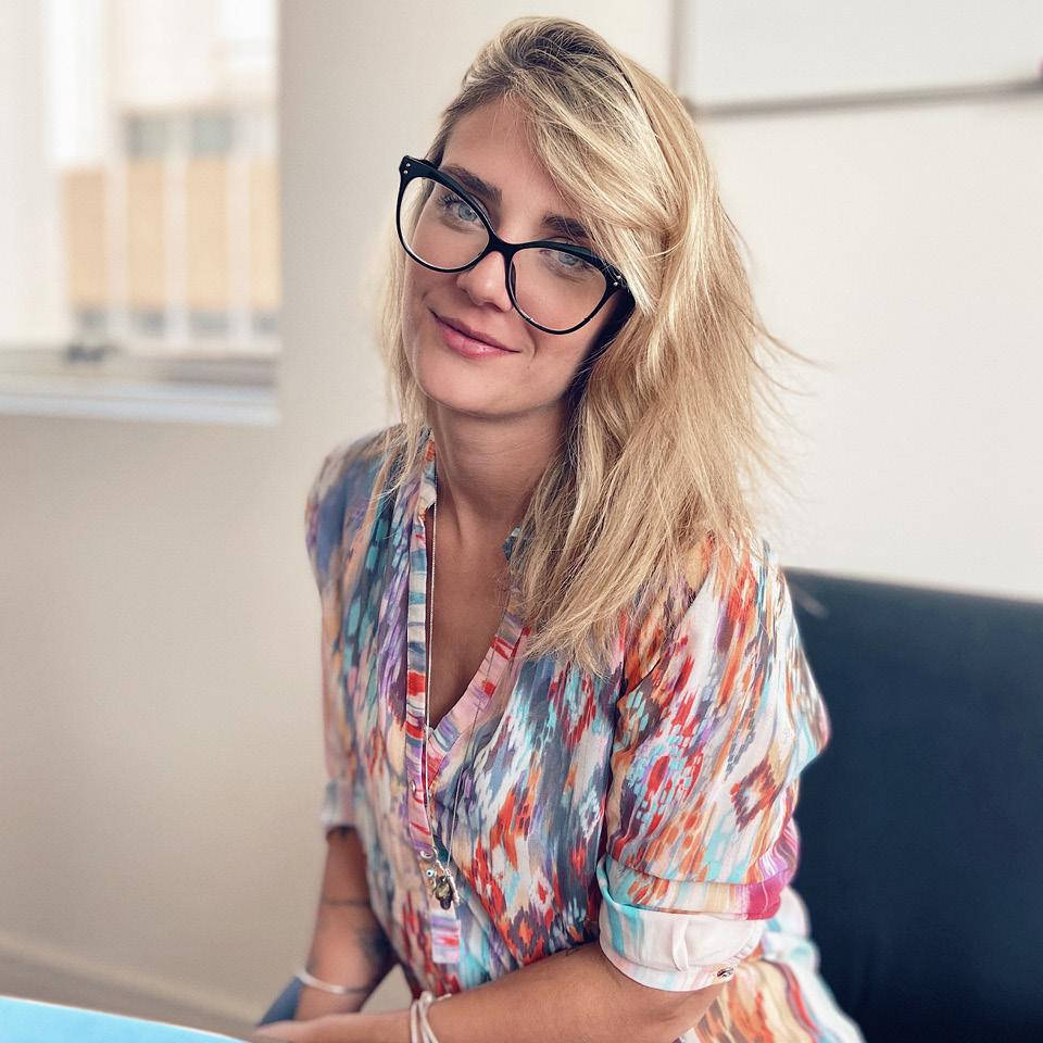 Larissa Barone, de 29 anos, atua em um escritório de advocacia de médio porte, em São Paulo