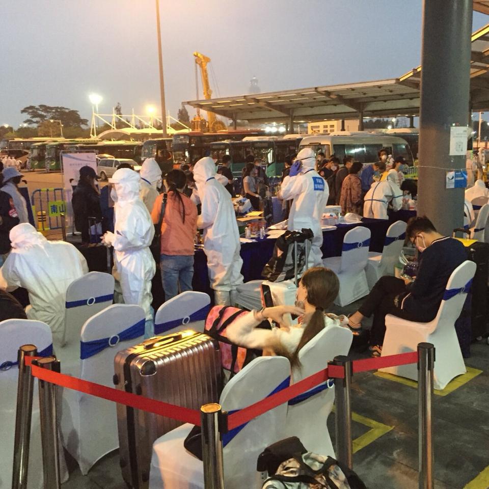 Fronteira entre Hong Kong e Shenzhen