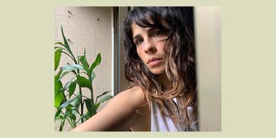 Confinada, Maria Ribeiro está se sentindo uma idiota inútil