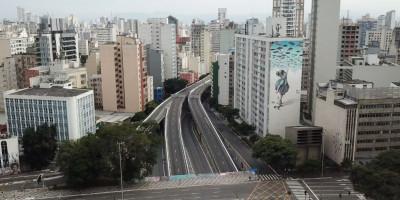 São Paulo de quarentena: a metrópole vista do céu