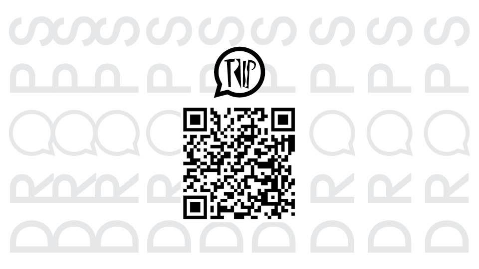 QR Code para acessar o Trip Drops