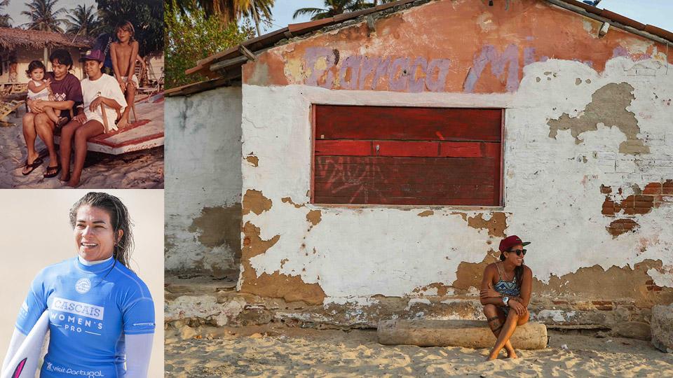 Silvana Lima, 35 anos, uma das duas brasileiras na elite do surf, natural de Paracuru (CE)