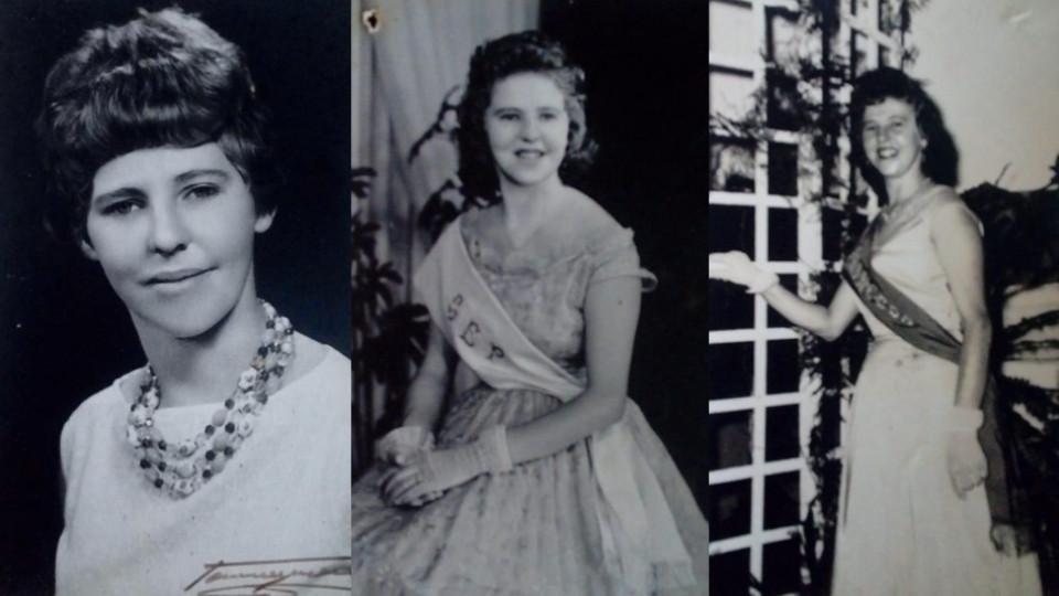 Três momentos da vida de Iray Paz, mãe de Bárbara Paz