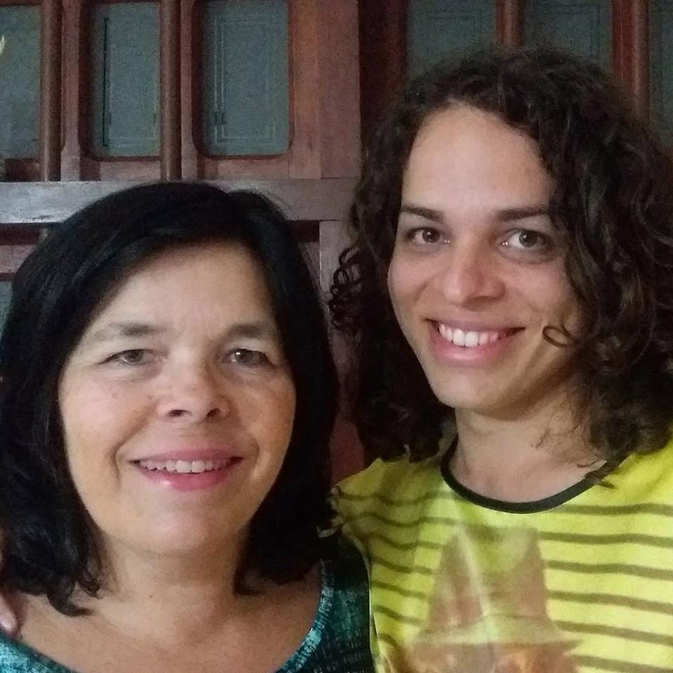 DuCarmo com a filha, Amara Moira