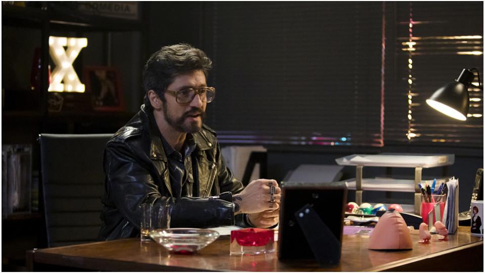 O ator Fernando Alves Pinto também está no elenco da série