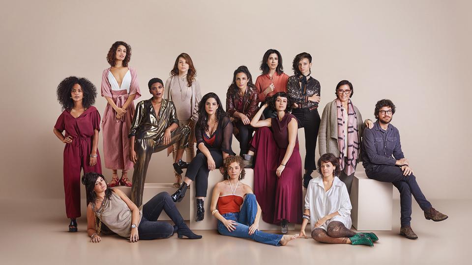 No elenco, estão nomes como Matheus Nachtergaele, Martha Nowill, Fernanda Torres, Lilia Cabral, Maria Ribeiro, Fábio Assunção e Maeve Jinkings