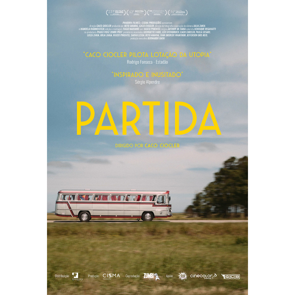 """Cartaz do filme """"Partida"""", dirigido por Caco Ciocler"""