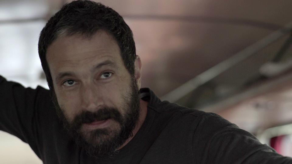 """Caco Ciocler, diretor e também um dos personagens do filme """"Partida"""""""