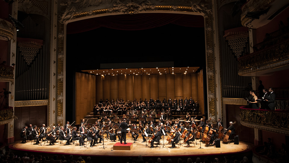 Apresentação da Orquestra Sinfônica Municipal no Theatro Municipal