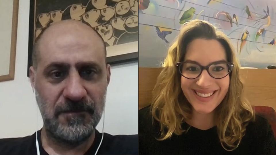 """Os jornalistas Ricardo Calil e Camila Appel falam sobre a série """"Em Nome de Deus"""" na entrevista ao Trip FM"""