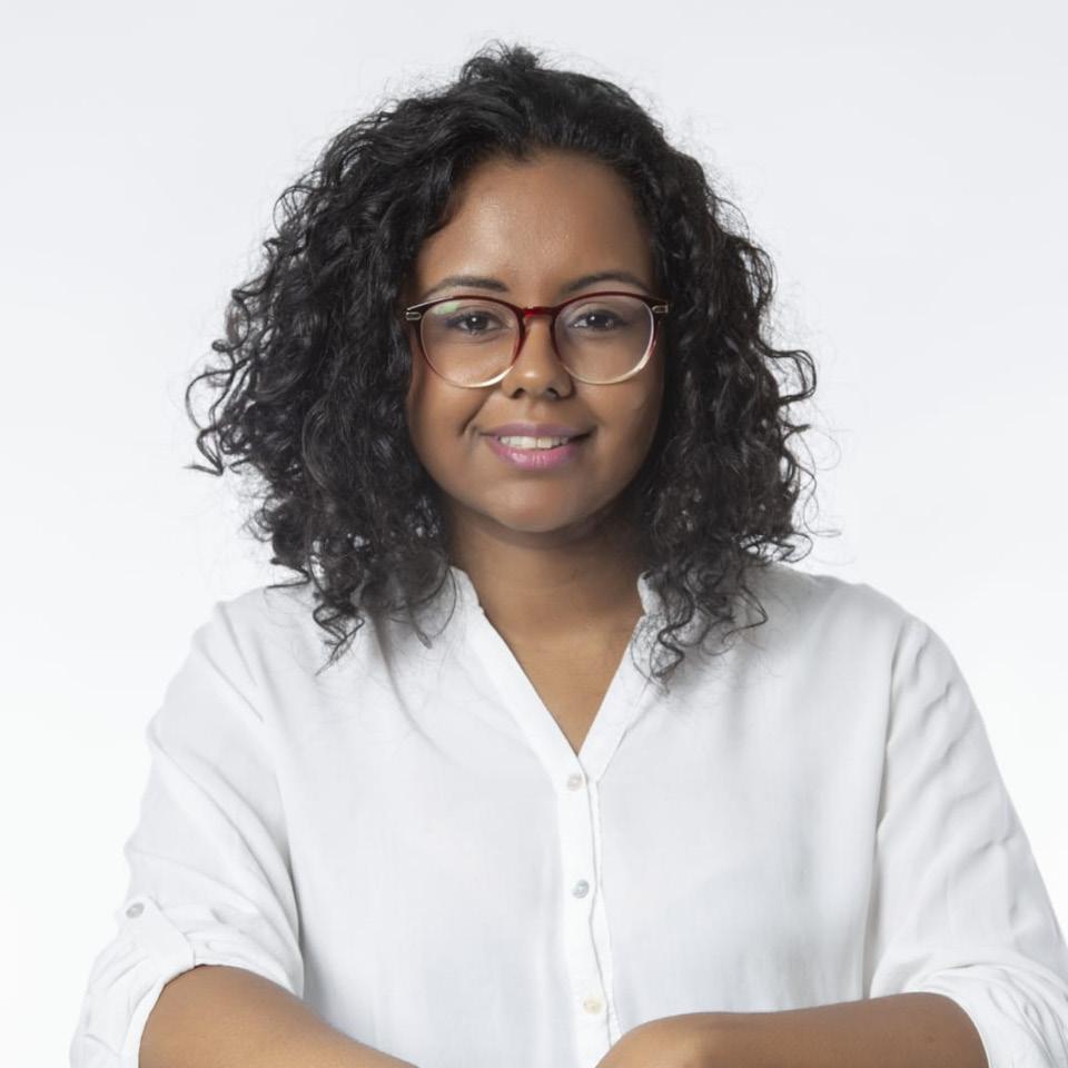 A psicóloga perinatal Fabiana Villas Boas, colaboradora do Instituto Amma Psique e Negritude