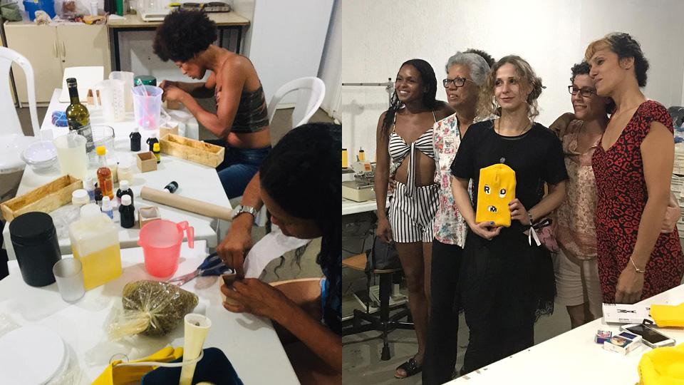Geralda Ávila - voluntárias em prisões femininas
