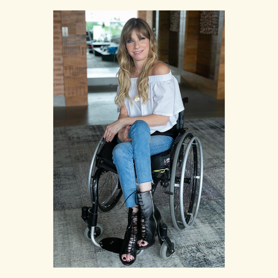 A empresária Andrea Schwarz questiona: quantos líderes com deficiência você vê nas empresas?