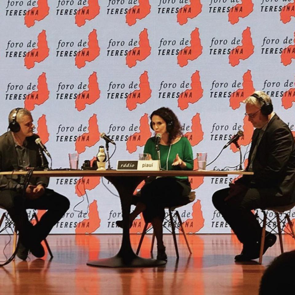Malu entre os colegas de Foro de Teresina, Fernando de Barros e Silva e José Roberto de Toledo